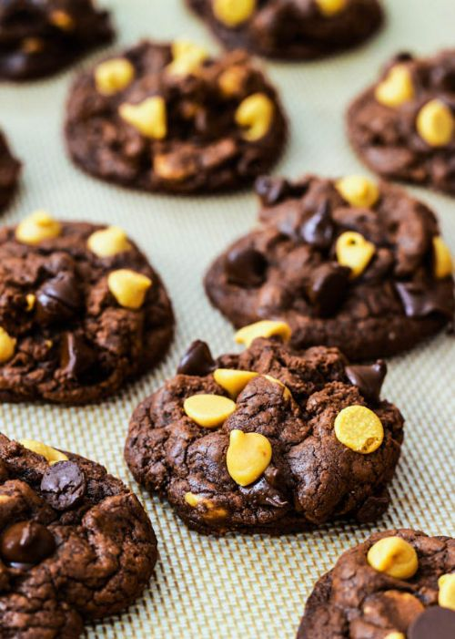 Death By Chocolate PB Cookies