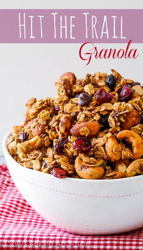 Hit The Trail Granola