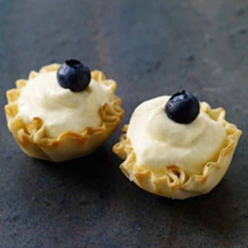 Lemon Phyllo Cups