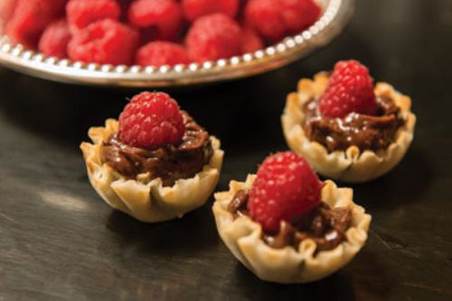 Nutella Phyllo Cups