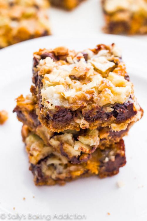 Apple Butterscotch Magic Bars