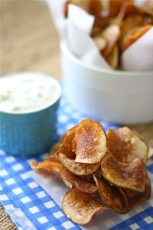 Homemade Kettle Chips