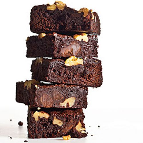 Classic Fudge Walnut Brownies