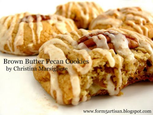 Brown Butter Pecan Cookies
