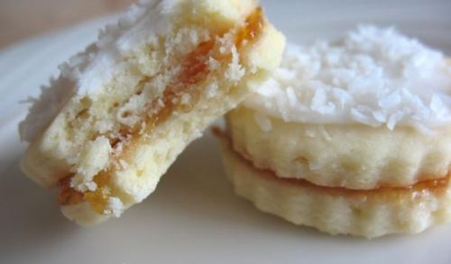 Coconut Mango Butter Cookies