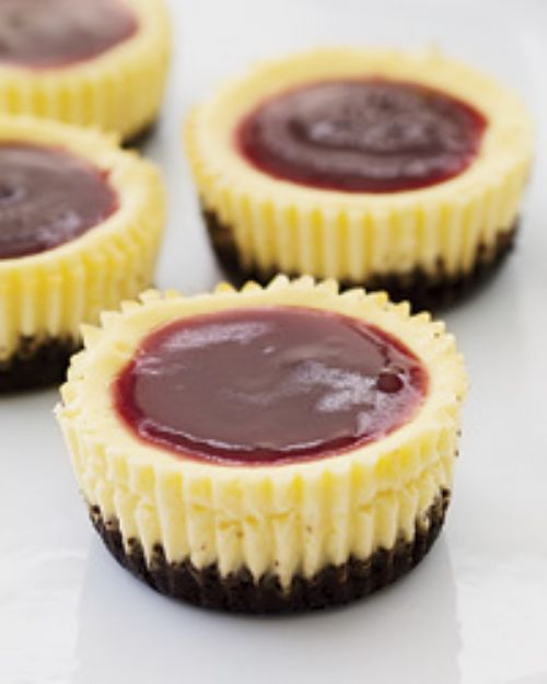Mini Blackbottom Cheesecakes