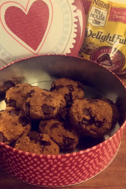Pumpkin Oatmeal Cherry Morsel Cookies'