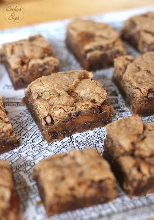 Spice Cake Knock You Naked Brownies