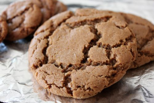 Gift in a jar - molasses cookie mix