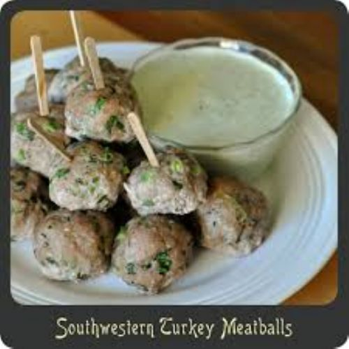 Southwest Turkey Meatballs