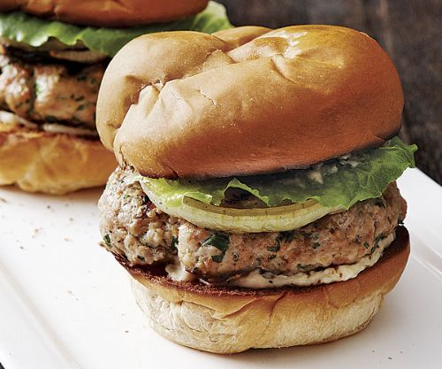 Smoky Pork Burgers