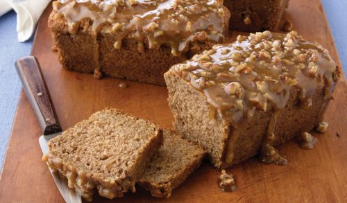 Apple-Praline Quick Bread
