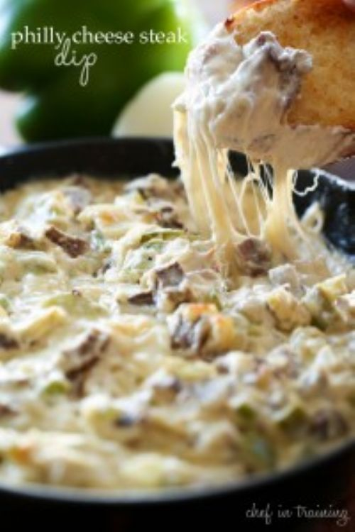 Deb's Philly Cheese Steak Dip