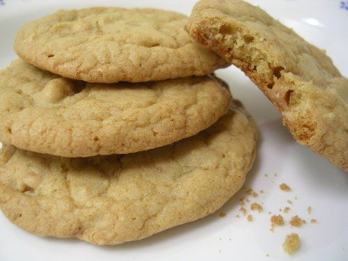 Crunchy and Chewy English Toffee Cookies