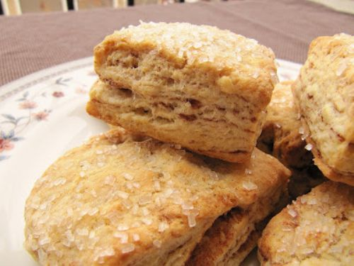 Flaky Cinnamon Layered Biscuits