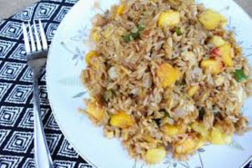 Peach Fried Rice