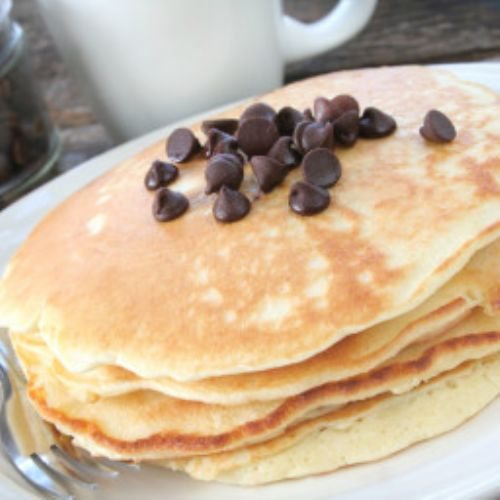 Gluten-Free Chocolate Chip Pancakes