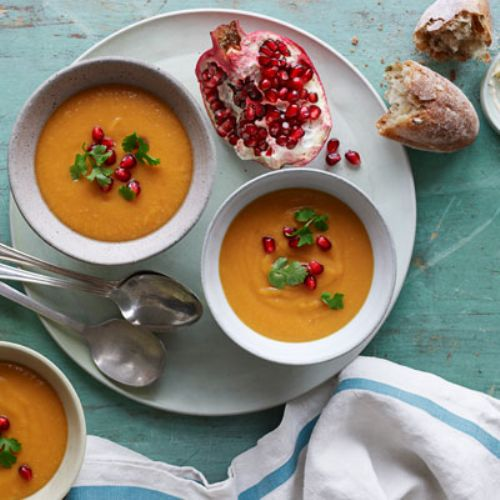 Sweet Potato & Red Lentil Bisque