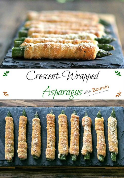 CRESCENT WRAPPED ASPARAGUS