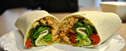 Chicken Burrito Wrap