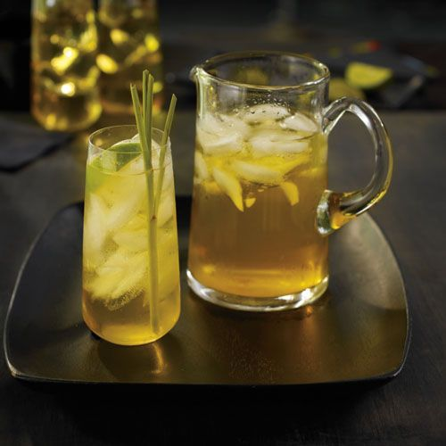 Green Lemon Grass Iced Sun Tea