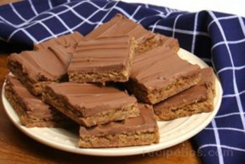 Peanut Butter Finger Bars