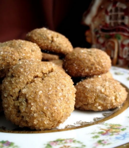 Exotic Spice Cookies w/ Ginger,Cardamom,Rose Water