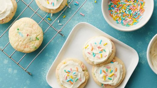 Funfetti Holiday Cookies