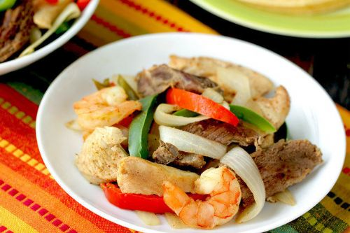 Slow Cooker Everything Fajitas