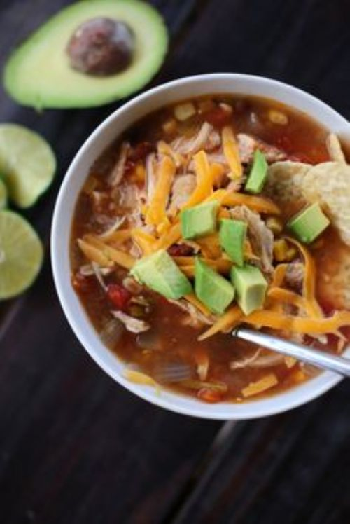 Easy Fall Fajita Soup