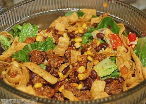 Mom's Taco Salad with Catalina