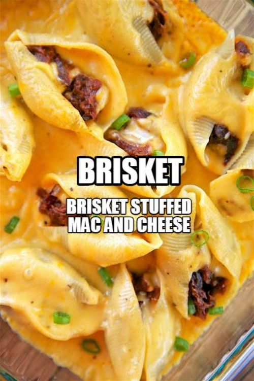 Brisket- Brisket Stuffed Mac and Cheese