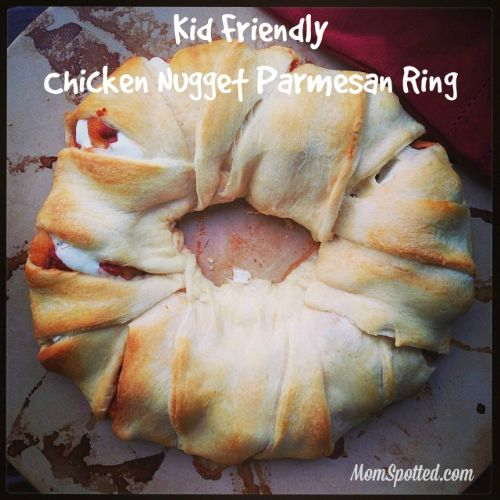 Chicken Nugget Parmesan Ring