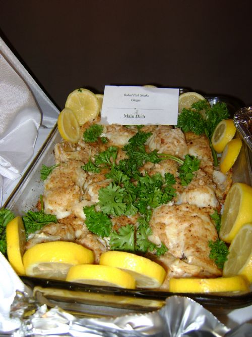 New Zealand Baked Fish Steaks
