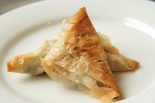 Ginny's Spanakopita Triangles