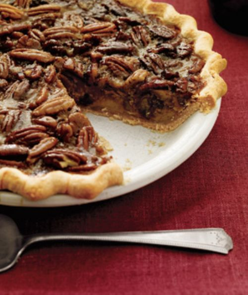 Bourbon and Orange Pecan Pie