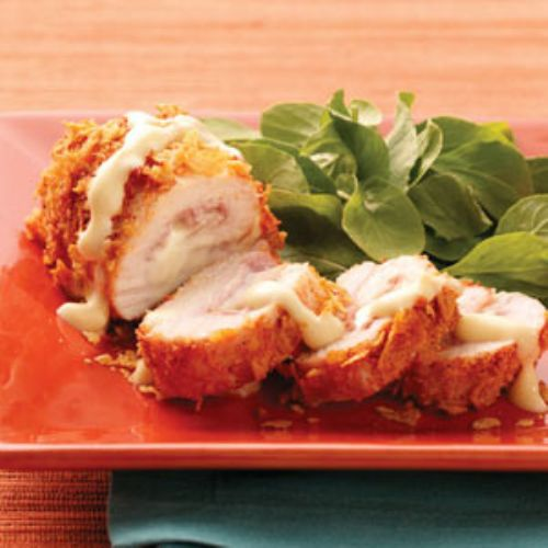 Light Chicken Cordon Bleu
