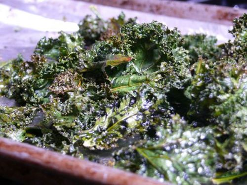 Kale and Roasted Tomatoes