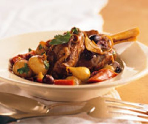 Spicy Lamb Shanks