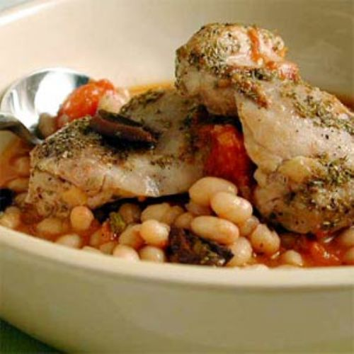 Italian Chicken with Cannellini