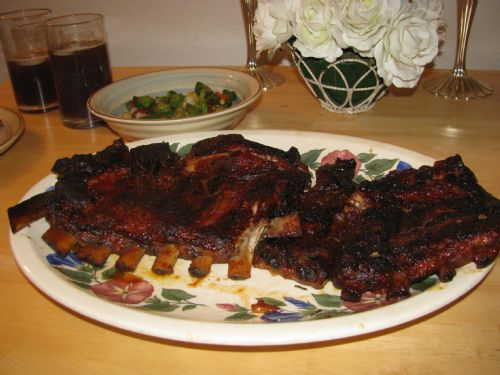 Fall-off-the-bone Baked  BBQ Pork Ribs