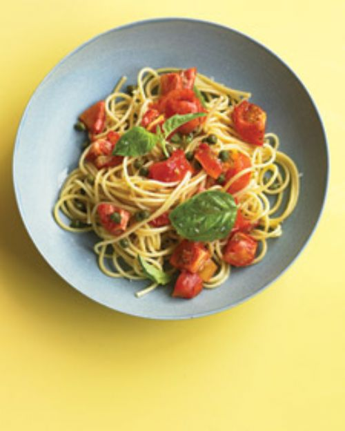 Pasta with Roasted Tomato Sauce