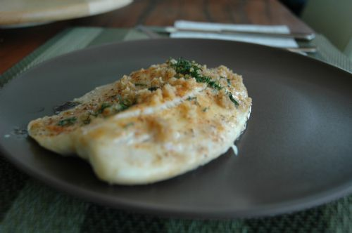 Crusted Baked Tilapia