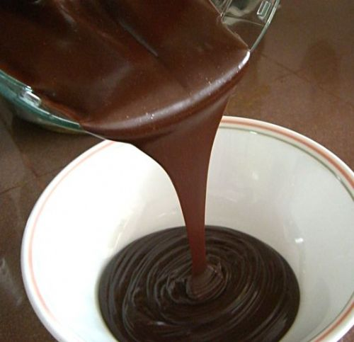 CHOCOLATE SAUCE FOR ICE CREAM