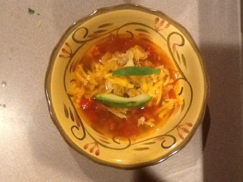 (WOOD) Tortilla Soup