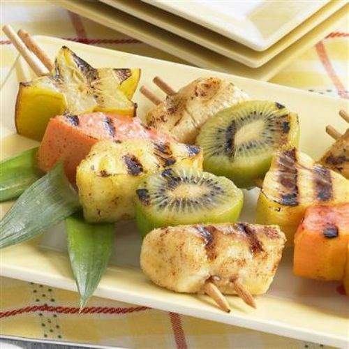 Rum-Ba Fruit Skewers
