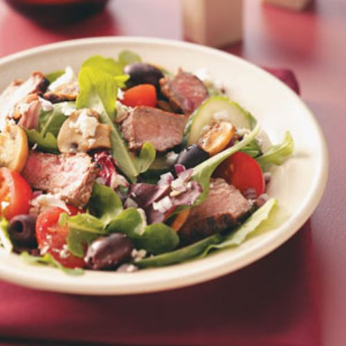 Greek Island Steak Salad