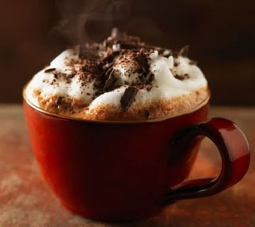Liquored-up Hot Chocolate