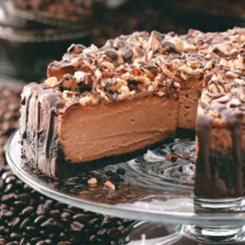 Coffee Toffee Cheescake