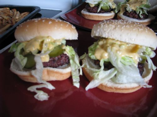 Homemade Big Macs